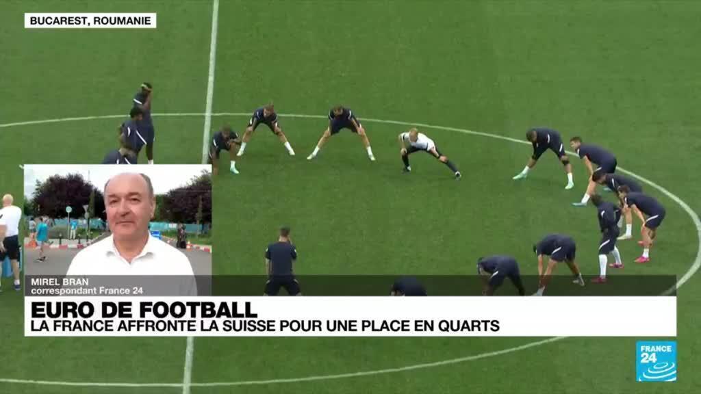 2021-06-28 18:13 La France face à la Suisse pour une place en quarts de finale