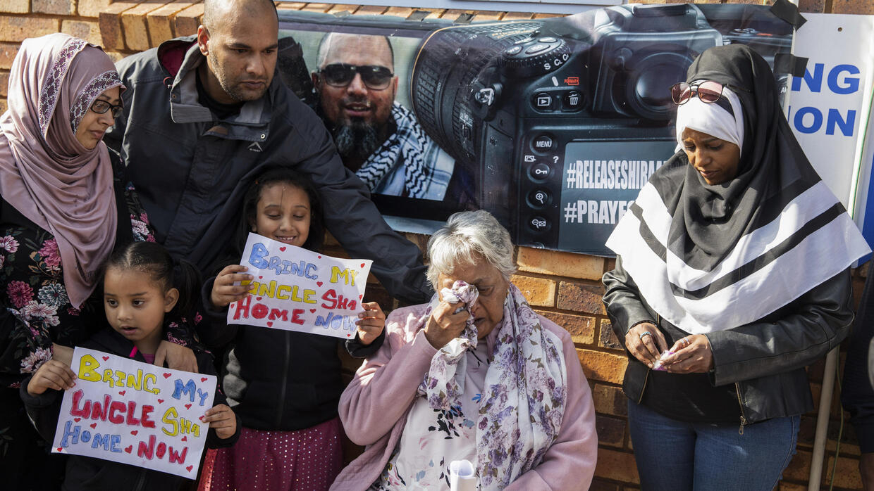 Image result for S.African hostage in Syria returns home after three years