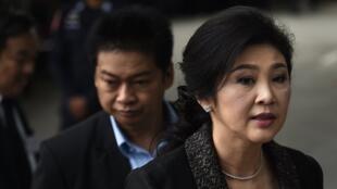 Yingluck Shinawatra risquait 10 ans de prison en Thaïlande pour une affaire de négligeance. (Image d'archive)