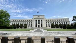 Vista de la sede de la Reserva Federal estadounidense, el 1º de julio de 2020 en Washington