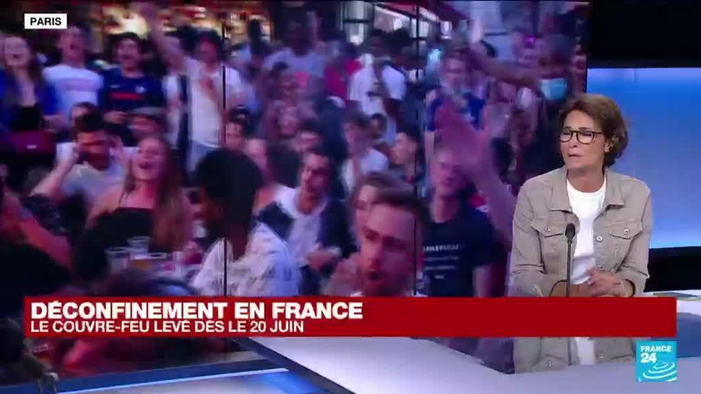 2021-06-16 13:26 Déconfinement en France : le couvre-feu levé dès le 20 juin