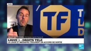 2020-12-22 16:12 Droits TV de la Ligue 1: la page Mediapro est tournée, la balle dans le camp de Canal+