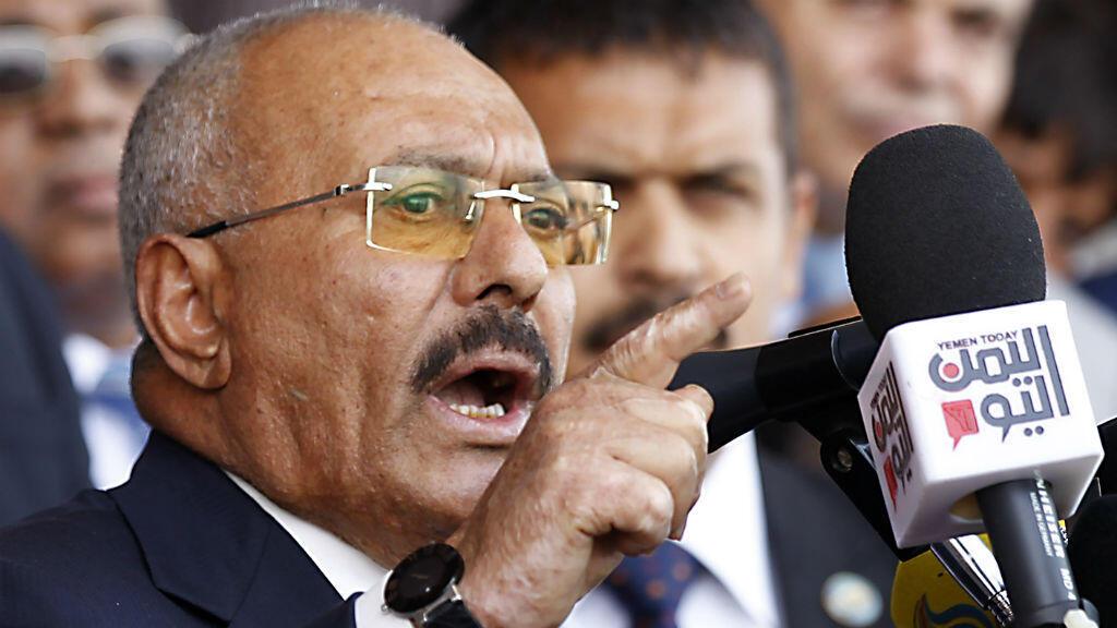 """L'ancien président yéménite Ali Abdallah Saleh veut """"tourner la page"""" de ses relations avec l'Arabie saoudite."""