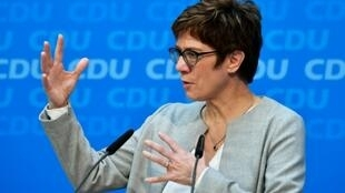 Kramp-Karrenbauer is a devout Catholic who has spoken out against same-sex marriage