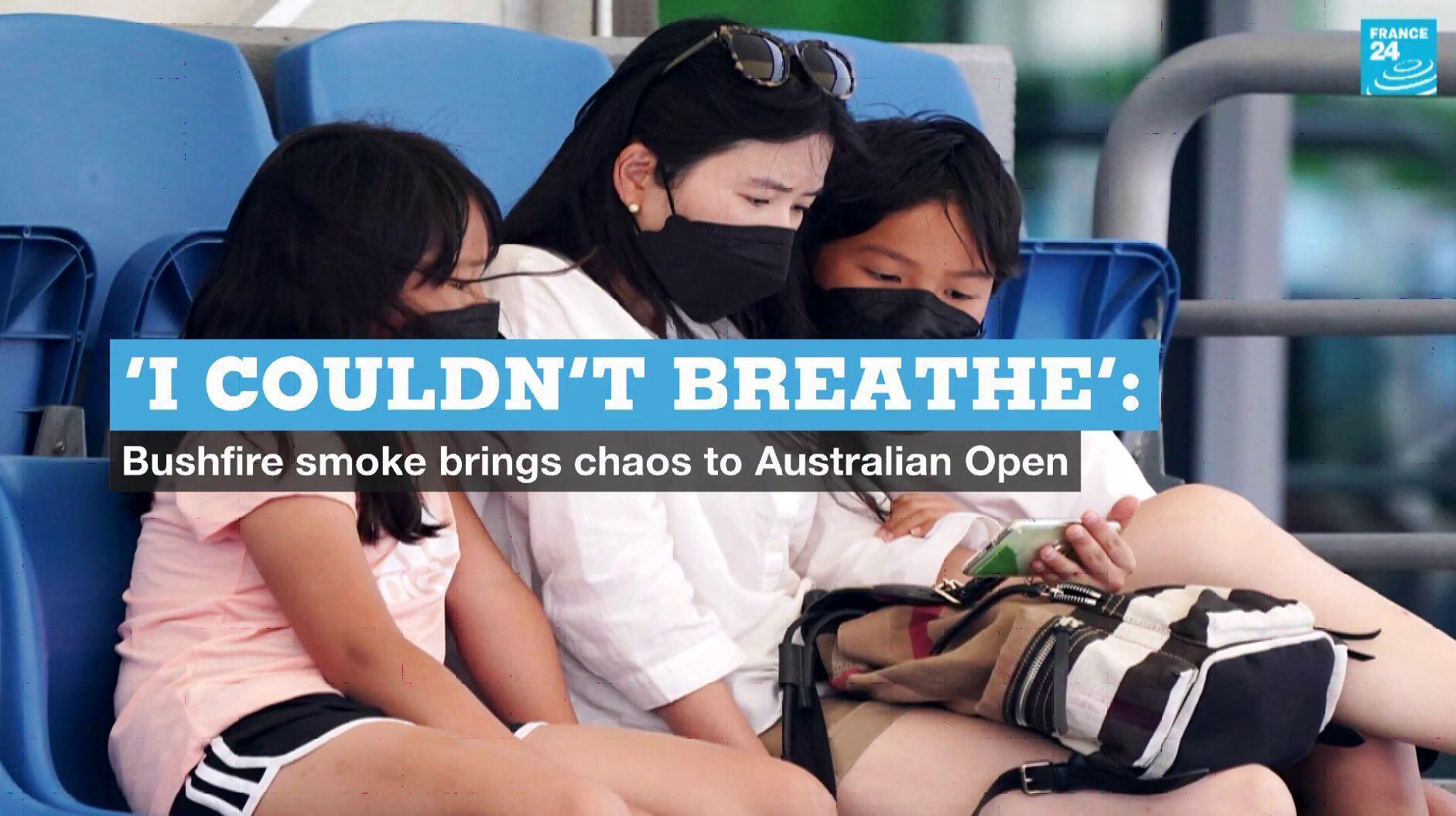 EN vignette australian open bushfires