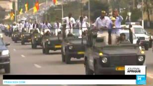Les vainqueurs de la CAN-2017 ont été acclamés par la foule dans les rues de la capitale camerounaise.