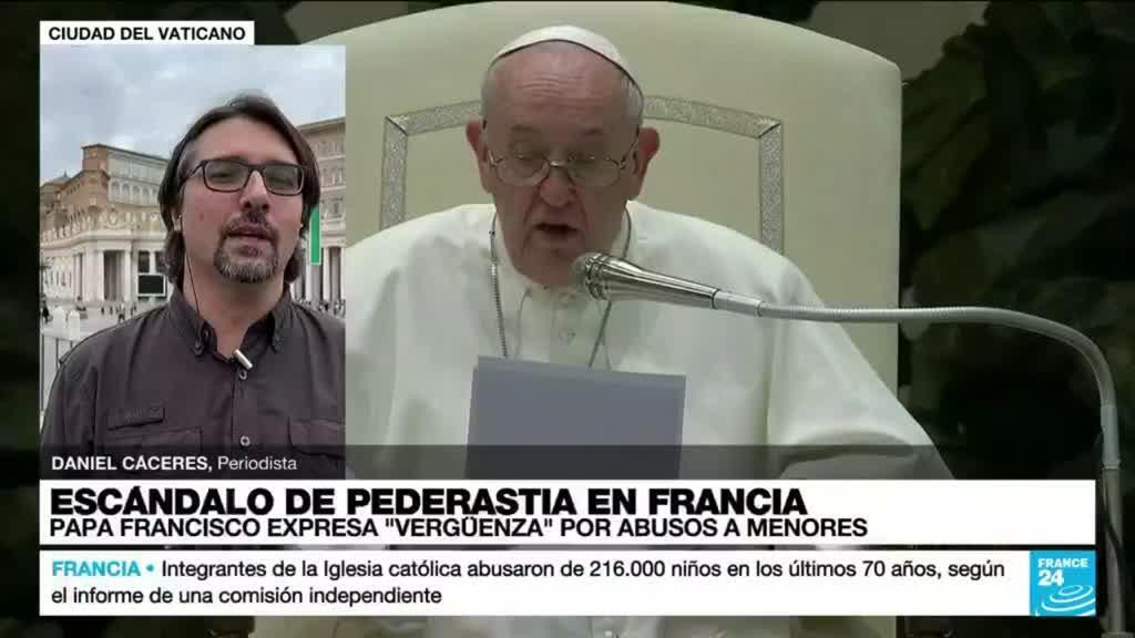 2021-10-06 14:35 Papa Francisco lanza un mea culpa en nombre de la Iglesia por los abusos en Francia