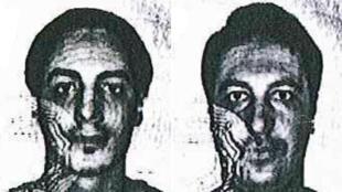 Photos des deux nouveaux suspects utilisant les identités Soufiane Kayal et Samir Bouzid.