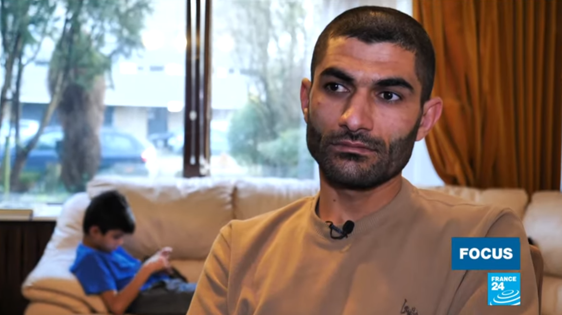 Survivor of a Dutch air strike in Iraq talks about the toll of the fight against IS.