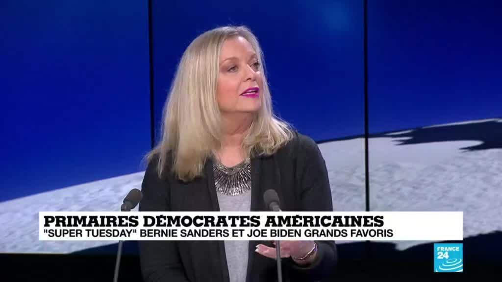 """2020-03-03 22:03 Amy Porter : """" C'est le but des Démocrates de battre Donald Trump"""""""