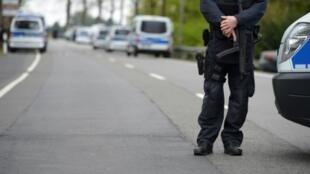 صورة رمزية للشرطة الألمانية