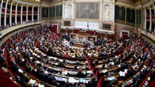 L'assemblée nationale française en avril 2013.