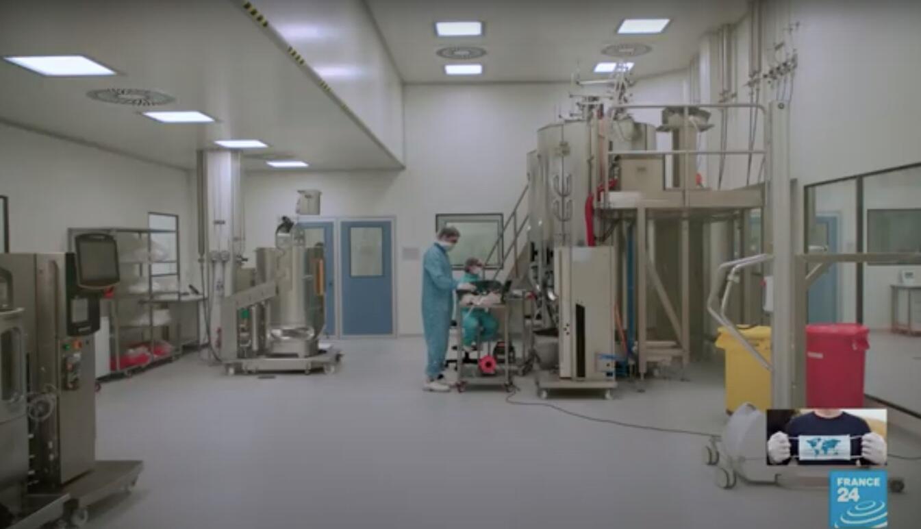 La planta de la compañía mAbxience, parte del grupo empresarialInsud, elegida por AstraZeneca para producir desde Argentina y para toda América Latina, excepto Brasil, la vacuna que desarrolla con la Universidad de Oxford.