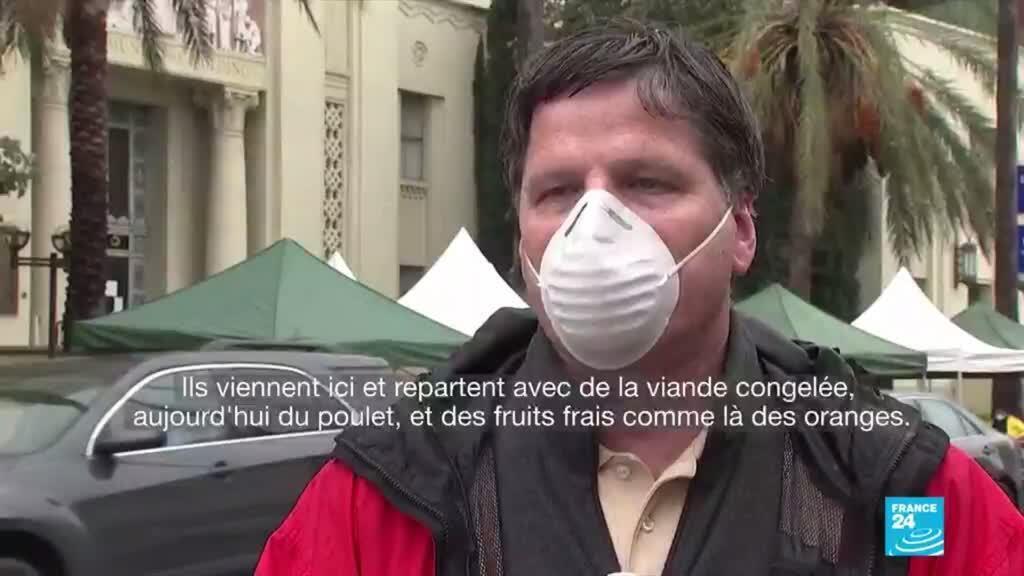 2020-04-10 13:10 Coronavirus : Aux États-Unis, la solidarité avec les plus démunis s'organise