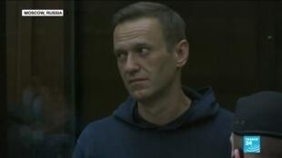2021-02-03 09:32 Kremlin critic Alexei Navalny jailed, declares Putin 'the Underwear Poisoner'
