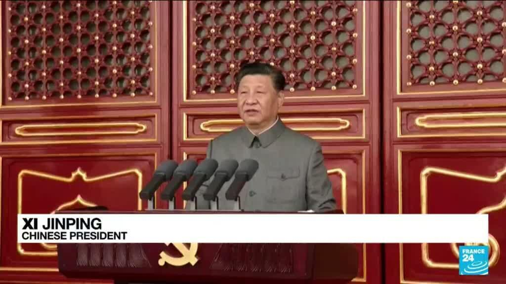 2021-07-01 10:01 Xi warns against foreign 'bullying' as China marks party centenary