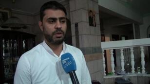 Abdelakaoui  Makkaoui, brother of Sherine Makkaoui who was kidnapped alongside Frenchwoman Isabelle Prime in Yemen's capital Sanaa on Tuesday, February 24, 2015
