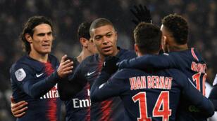 L'armada offensive du PSG a infligé une défaite historique à Guingamp (9-0).
