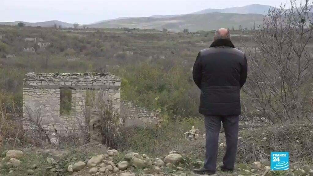 Nagorno-Karabakh: After three decades, former residents return to find homes in ruins