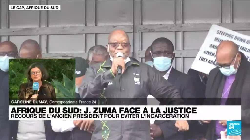 2021-07-06 13:34 Afrique du Sud : recours de l'ancien président Zuma pour éviter l'incarcération