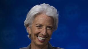Christine Lagarde le 14 juin 2018 au FMI, à Washington.