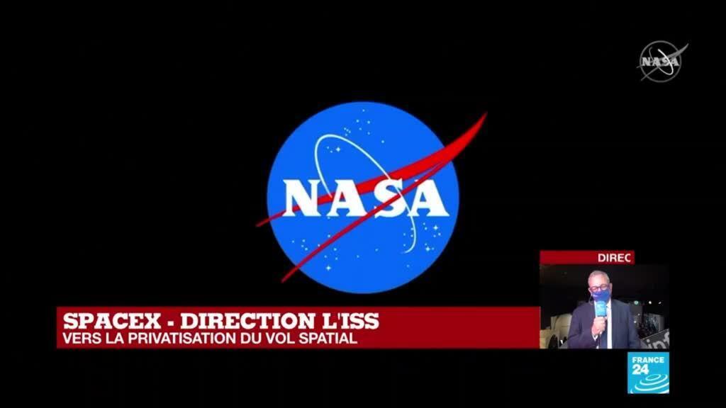 2021-04-23 12:13 Mission Alpha : 1er vol habité de SpaceX en partenariat avec la Nasa