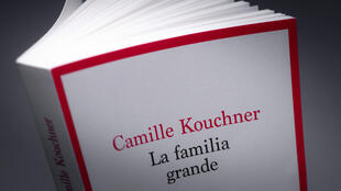 "This photograph shows the book ""La familia grande"" written by Camille Kouchner, pictured on January 5, 2021, in Paris."