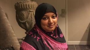 Saba Ahmed, jeune avocate de 31 ans, a créé la Coalition républicaine musulmane, favorable à Donald Trump.