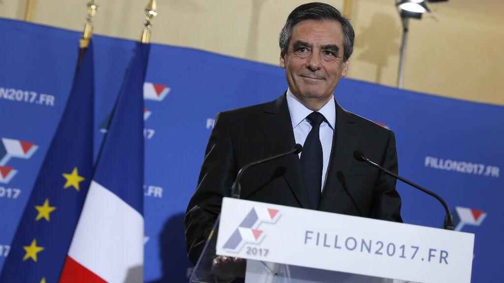 فرانسوا فيون، مرشح اليمين لانتخابات الرئاسة في 2017.