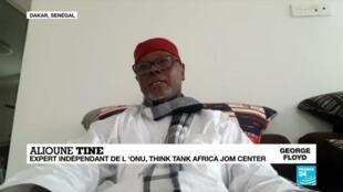"2020-06-10 15:06 Mort de George Floyd : ""Le continent africain ne doit pas garder le silence"""