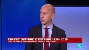 2020-12-03 10:05 Ex-President Vélery Giscard d'Estaing 'thought France's future was Europe'