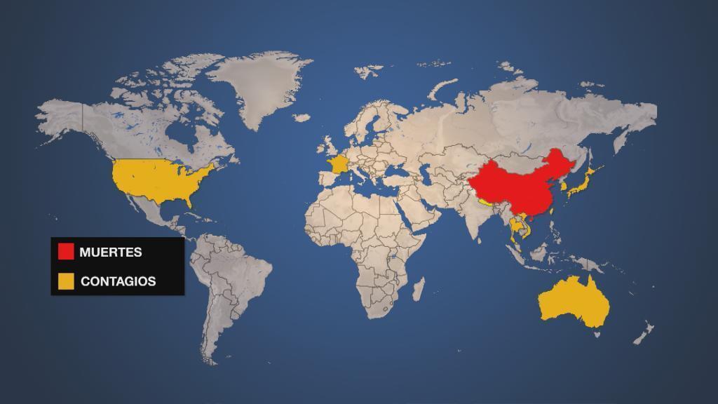 El virus se ha expandido por al menos 12 países