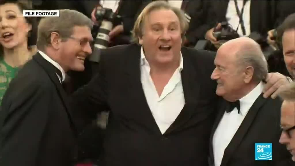 2021-02-24 09:41 French film giant Gerard Depardieu charged with rape