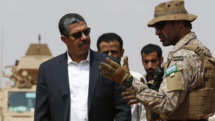 Le Premier ministre Khaled Bahah, à Aden, le 28 septembre.