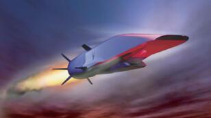 L'avion supersonique américain X-51A dont le vol d'essai a échoué en 2012.