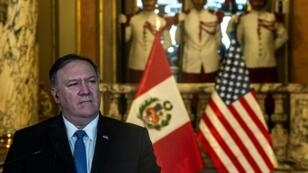 US Secretary of State Mike Pompeo is visiting the Colombian border city of Cucuta for the final leg of his South American tour