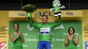 L'Allemand Marcel Kittel a remporté mercredi 12 juillet 2017 la 11e étape du Tour de France.