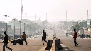 La ville de Kinshasa touchée par une grève générale à l'initiative de l'opposition, en avril dernier.