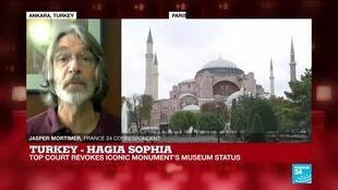 2020-07-10 15:31 Turkish top court revokes Hagia Sophia's museum status, 'tourists should still be allowed in'