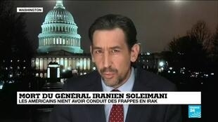 """2020-01-04 09:03 Washington mène souvent des frappes """"non revendiquées"""" en Irak, analyse notre correspondant Matthieu Mabin"""