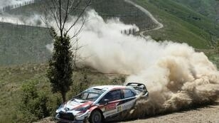 Estonian driver Ott Tanak targets a third straight win this season in Sardinia