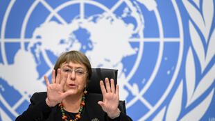 UN Human Rights Commissioner Michelle Bachelet, December 2020.
