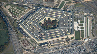 Une vue aérienne du Pentagone, à Washington, le 30 octobre 2018.