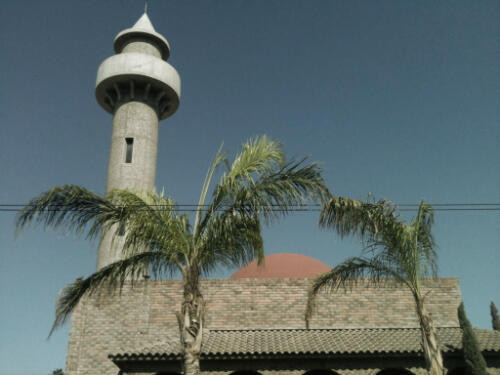 La mosquée Soraya est la première construite au Mexique. Elle a été bâtie en 1989, près de Torreon dans le nord du pays.