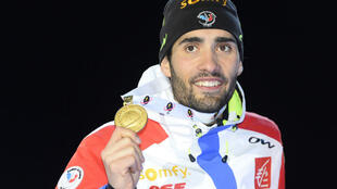 Martin Fourcade, quadruple champion du monde à Oslo.