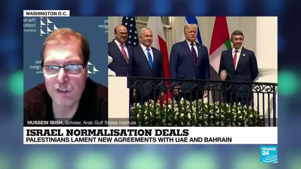 2020-09-16 08:12 Israel normalisation deals: Palestinians lament new agreement with Emirates and Bahrain