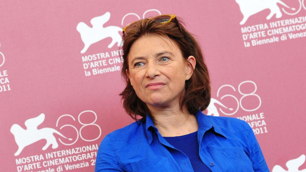 La réalisatrice Chantal Akerman en septembre 2011 à la Mostra de Venise.