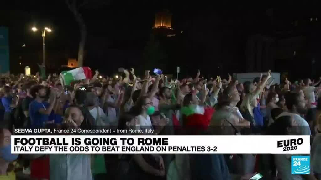 2021-07-12 00:14 Football is going to Rome: Italy win Euro 2020 final on penalties