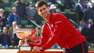 Novak Djokovic a remporté l'édition 2016 de Roland-Garros.