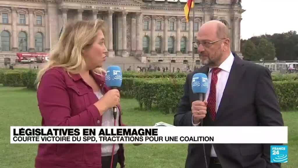 2021-09-27 18:04 Législatives en Allemagne : pour pouvoir former un gouvernement, le SPD va devoir négocier